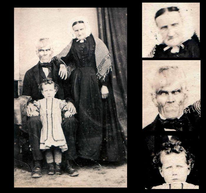 Fotografii sinistre - Familie