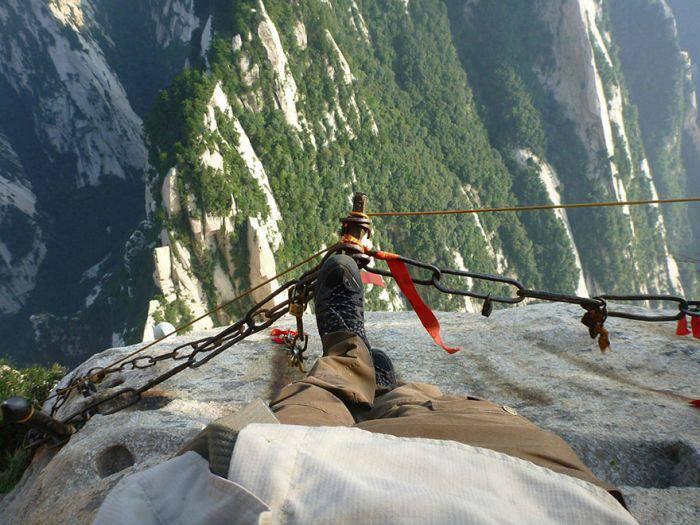 Locuri periculoase - Muntele Hua 1