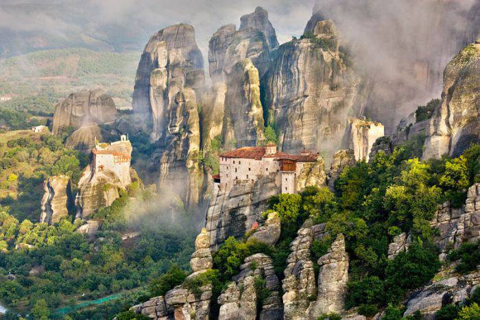 Manastiri - Meteora 01