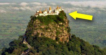 Testul suprem al izolării – 5 dintre cele mai inaccesibile mănăstiri din lume