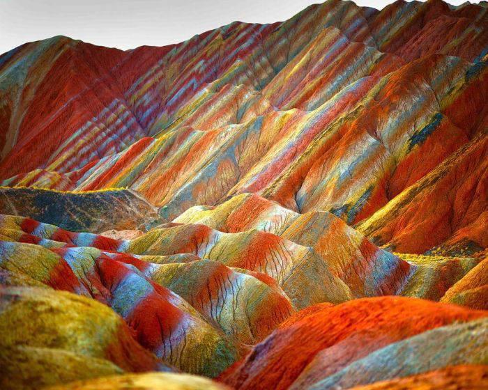 Locuri colorate - Danxia