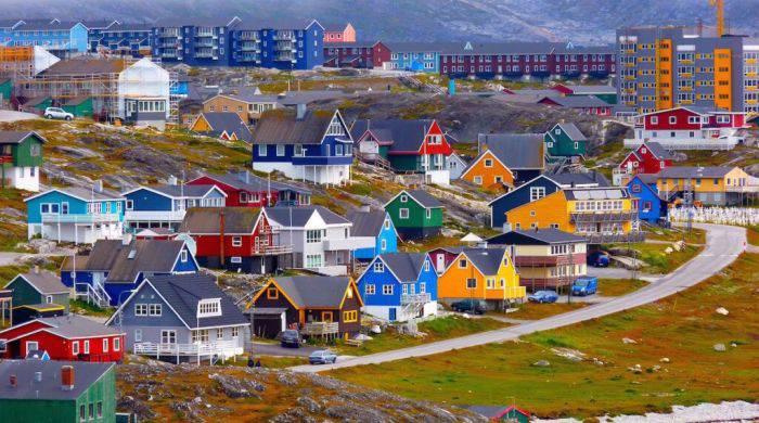 Locuri colorate - Nuuk