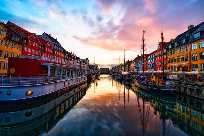 Locuri colorate - Nyhavn