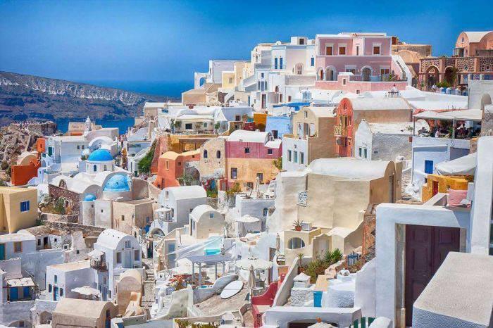 Locuri colorate - Santorini