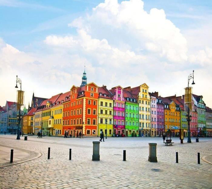 Locuri colorate - Wroclaw