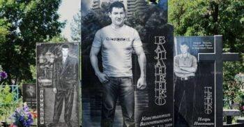 <mark>FOTO</mark> Cimitirul extravagant al mafioților din Rusia
