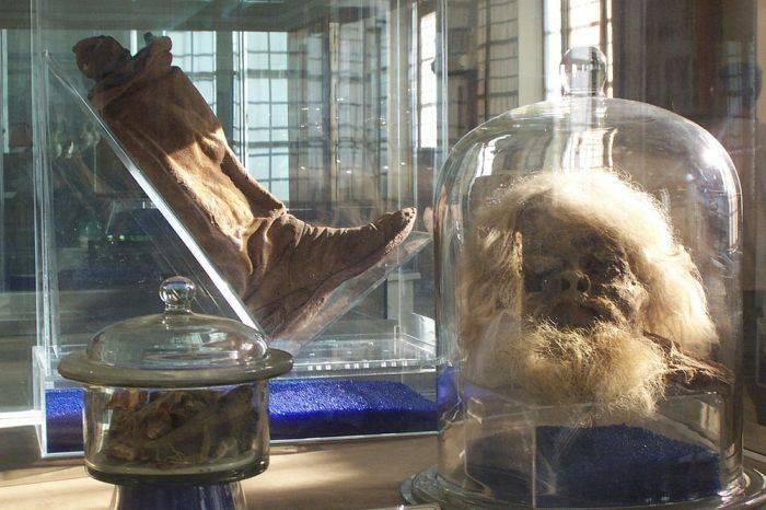 Mumiile de sare din Iran