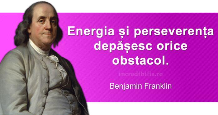 citate celebre benjamin franklin