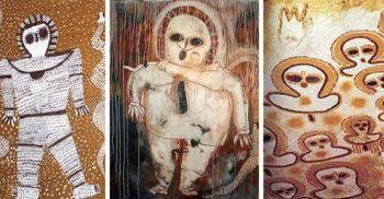 5 petroglife și picturi rupestre antice care înfățișează ființe din alte lumi FEATURED