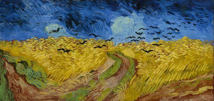 Picturi celebre - Galben 1