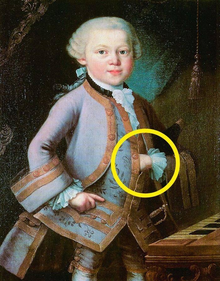Picturi celebre - Mozart