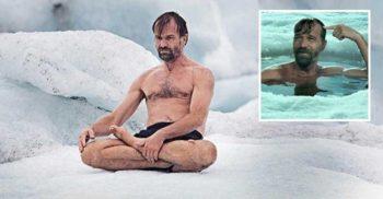 <mark>VIDEO</mark> Secretul lui Wim Hof, omul care-și reglează temperatura corpului cu puterea minții