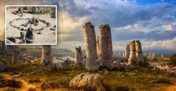 Formațiuni misterioase în Bulgaria Pădurile de piatră Pobiti Kamani FEATURED_compressed