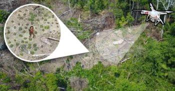 <mark>VIDEO</mark> Un trib necunoscut din jungla amazoniană, descoperit cu ajutorul dronelor