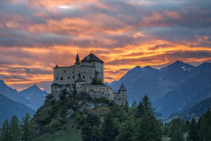 castele din elveția