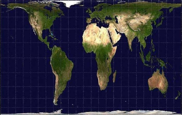 harta lumii gall_peters
