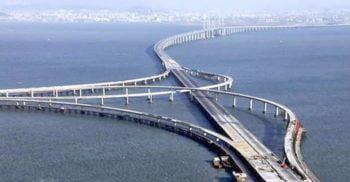 Cel mai lung pod maritim din lume a fost inaugurat în China