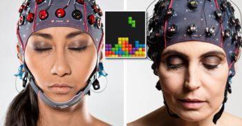 """Trei oameni și-au transmis gândurile în timp real, jucând """"Tetris prin telepatie"""""""