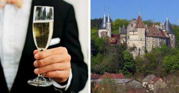 Un infractor care și-a înscenat moartea a fost prins trăind în lux într-un castel din Franța
