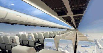 <mark>VIDEO</mark> Acest avion transparent și fără hublouri ne-ar putea da impresia că plutim în aer liber