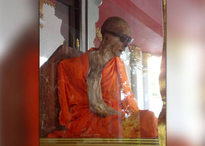 Automumificare calugari budisti