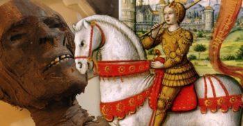 """""""Moaștele"""" Ioanei d'Arc s-au dovedit a fi bucăți dintr-o mumie egipteană"""