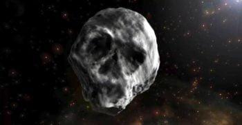 Asteroidul care seamănă cu un craniu va trece pe lângă Pământ pe 11 noiembrie