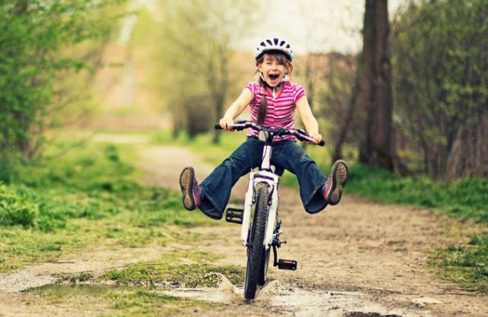 mersul pe bicicletă