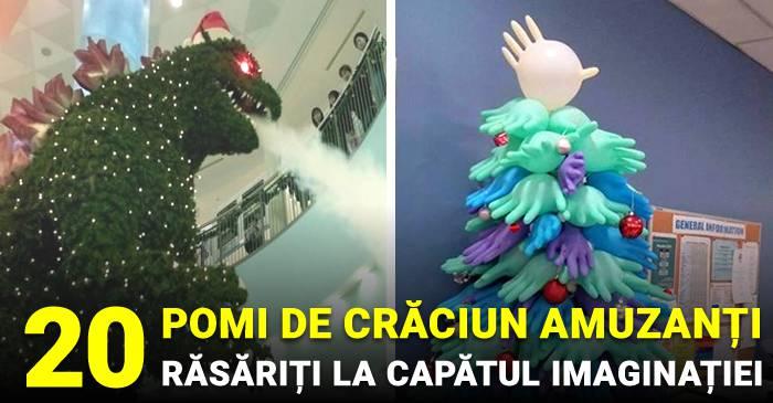 20 de pomi de Crăciun amuzanți, ce par să fi răsărit la capătul imaginației facebook_compressed