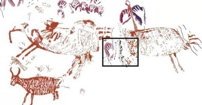 Cel mai vechi desen din lume înfățișând animale are o istorie incredibilă featured_compressed