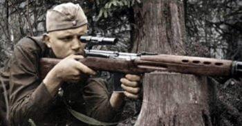 Ivan Sidorenko, cel mai bun lunetist al URSS. A ucis singur 500 de oameni