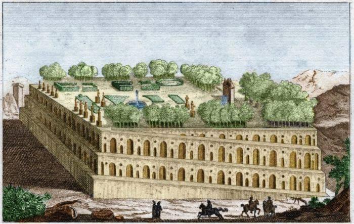 minuni ale lumii antice gradinile suspendate din babilon