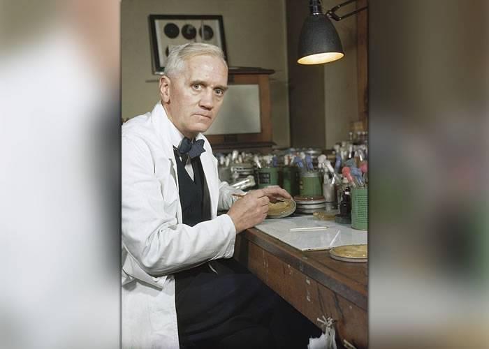 Alexander Fleming, savantul care a creat opere de artă din microbi