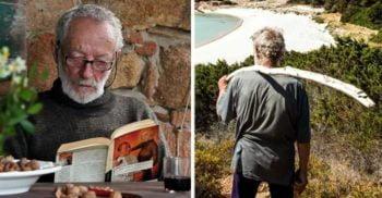 De 30 de ani, acest om trăiește ca Robinson Crusoe, singur pe o insulă pustie