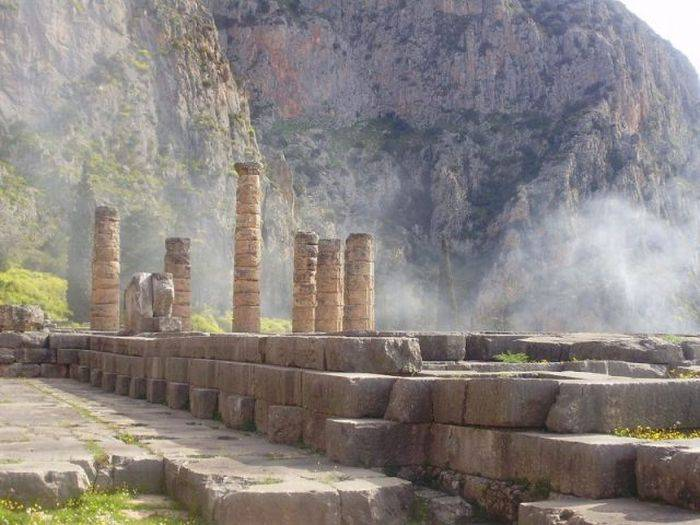 The Oracle of Delphi, the most powerful woman