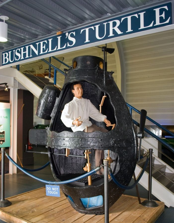 Primul submarin militar din lume