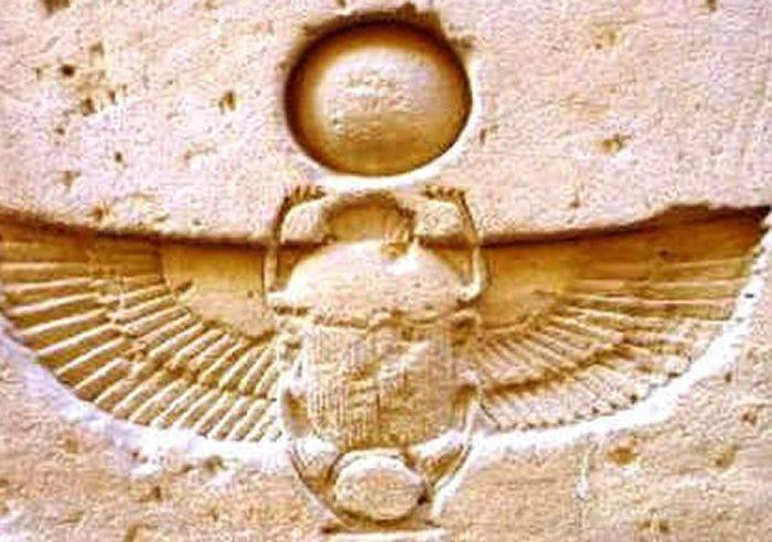 imbolul scarabeului Khepri