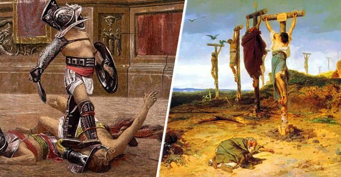 Finalul tragic al lui Spartacus și al gladiatorului care a fost mâna sa dreaptă featured_comp