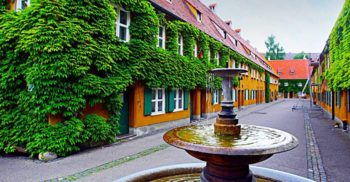 Fuggerei, satul din Germania unde chiria nu a mai crescut din 1520 featured_compressed