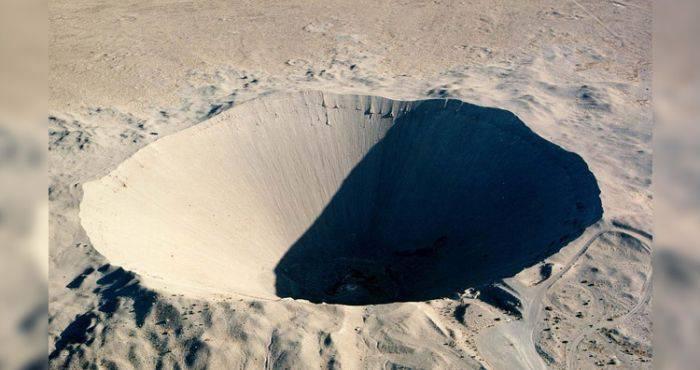 Craterul Sedan, cel mai mare crater artificial