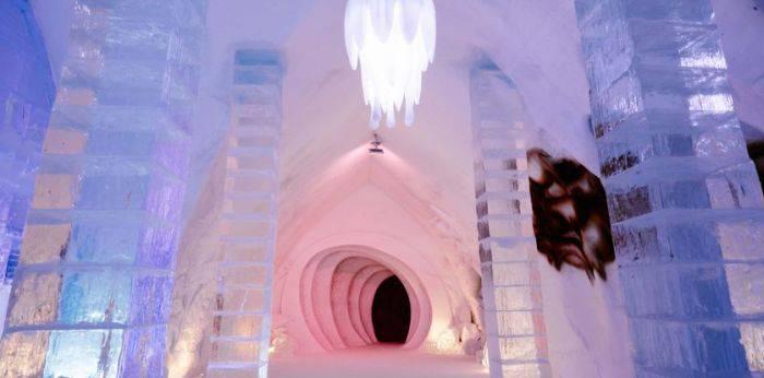 hoteluri de gheață