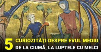 5 curiozități despre Evul Mediu, de la ciumă, la luptele cu melci