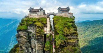 Aproape de cer: Templele budiste de pe muntele Fanjing