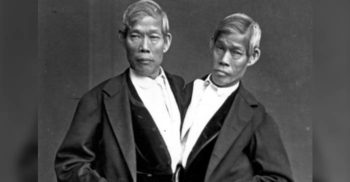 Chang și Eng, adevărații gemeni siamezi. Au avut 21 de copii cu soțiile lor, care erau surori