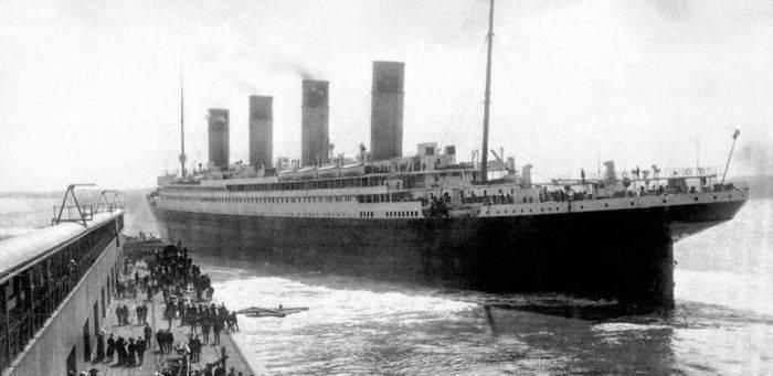 Curiozitati despre Titanic - Nava