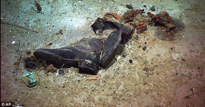 Curiozitati despre Titanic - pantofi