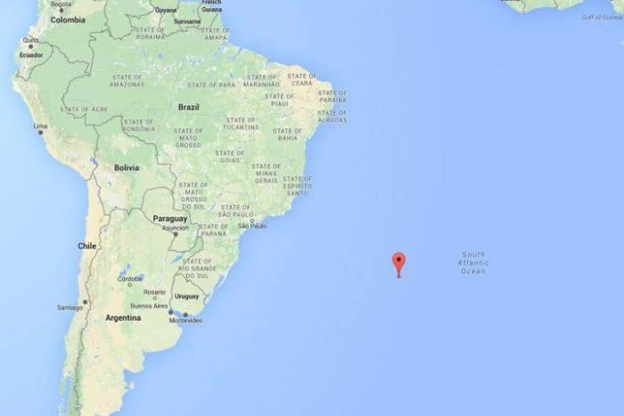 Meteorit Atlanticul de Sud
