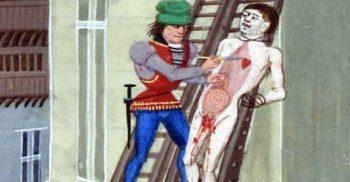 Cea mai brutală metodă de execuție din istorie: spânzurat, tras și sfârtecat