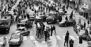 Dagen H: Haosul din ziua în care Suedia a schimbat sensul de mers al mașinilor