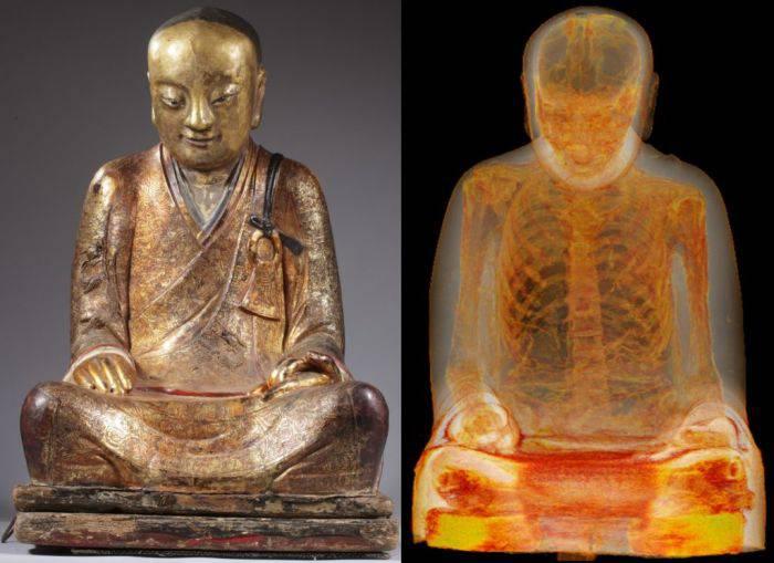 Mumie statuie